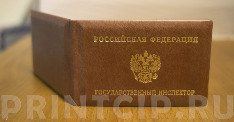 Удостоверение государственного инспектора